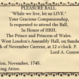 GLSL: Assembly Hall Ball with the Prince and Princess of Wales