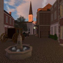 Georgian London in Second Life.jpg