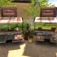 QH Market: Fishmonger