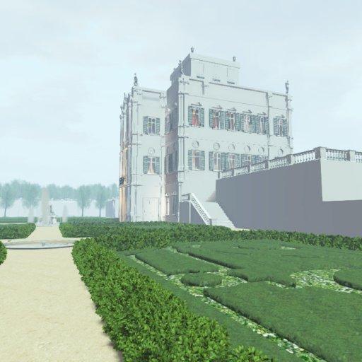 The Villa Doria Pamphili in the morning