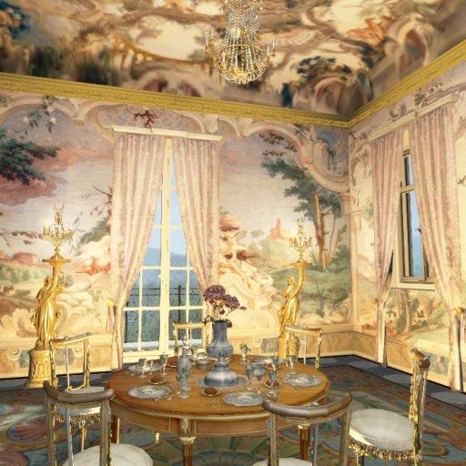 Villa Doria Pamphili Dining Room