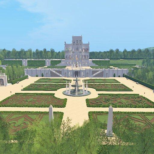 Lower Gardens of Villa Doria Pamphili