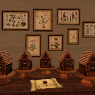 A Cake House Village