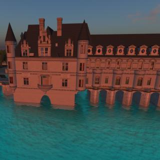 Chateau de Chenonceau, Antiquity Loire