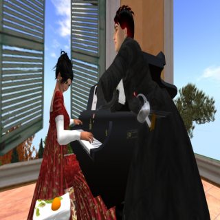 Courting: Miss Windstorm and Count von Hirvi