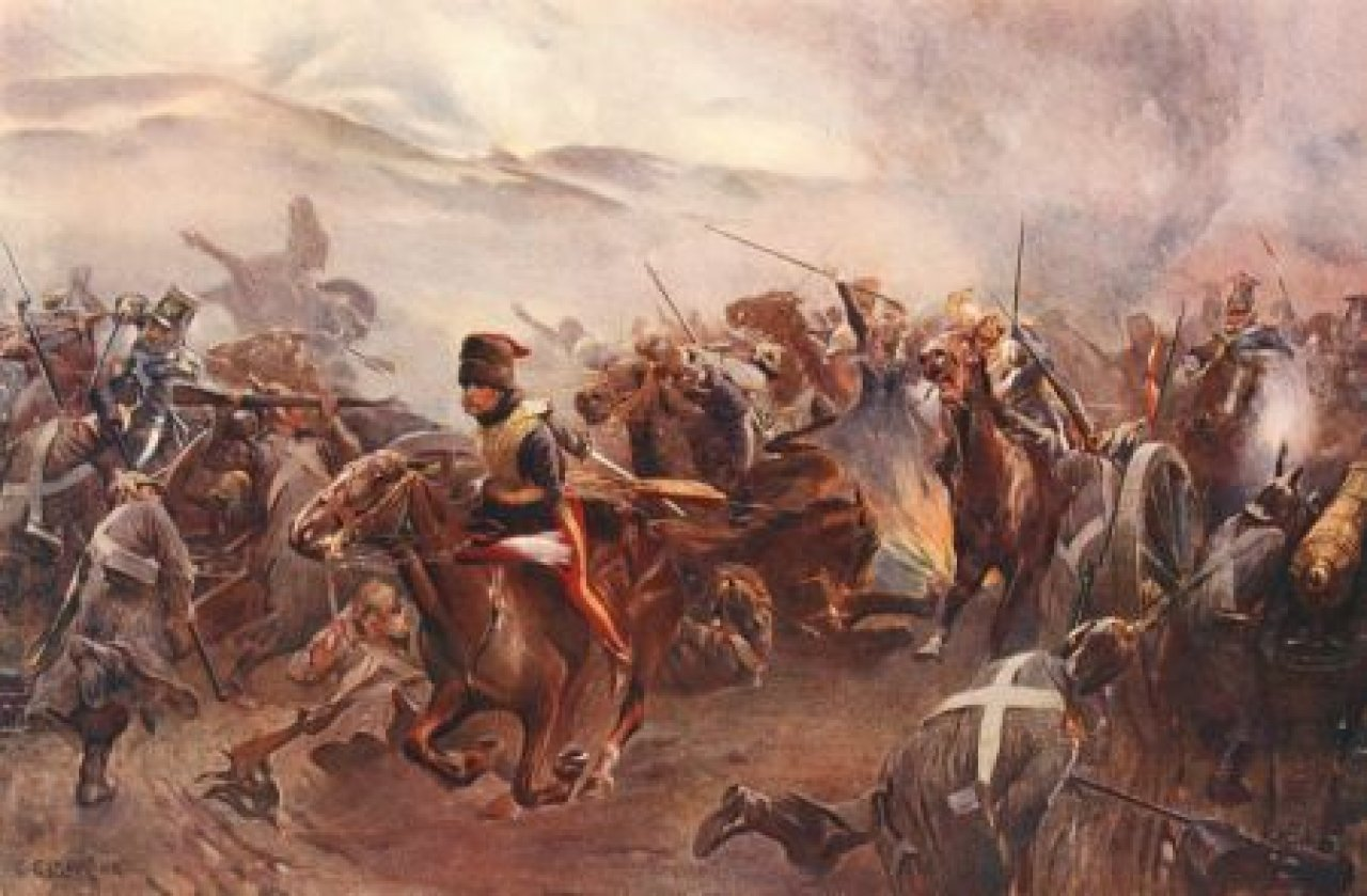 charge of the light brigade vs