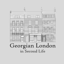 Georgian London in Second Life.