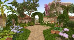 A year of peace - my wife's 'Venetian Garden'