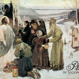 Russian Orthodox Easter Service