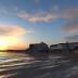 Sunset over Port Austen, Regency Somerset