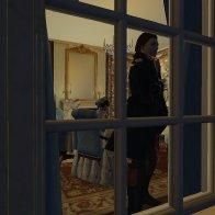 A peek through the window