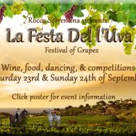 Grape harvest festival, 23rd & 24th Sep 2017