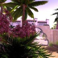 Desert Residence, by Tin Piek