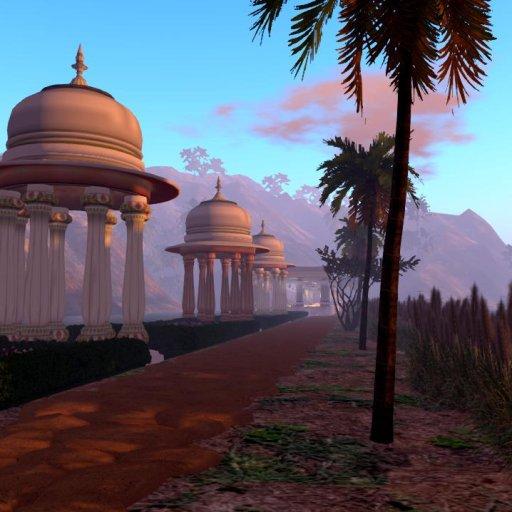 छत्री उद्यान The Jal Mahal (Memorial Chhatris)