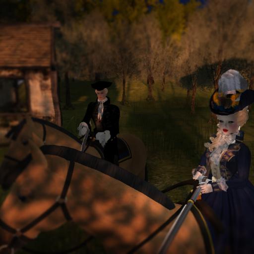 Comte d'Orsay & Mlle d'Estree