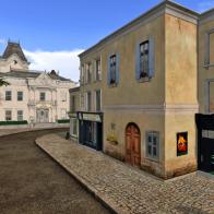 Street Corner, Ile Sainte Marie-les-Bains