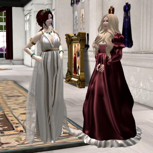Goddess Hera and her subordinate Lucrezia Borgia