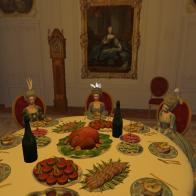 Dinner with HRH Mme Adelaide