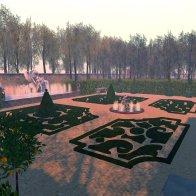 Pavillon de Caumont: The Gardens