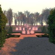 Pavillon de Caumont: Entrance to the Gardens
