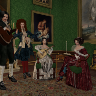 Entertainments in the Queen's Apartment