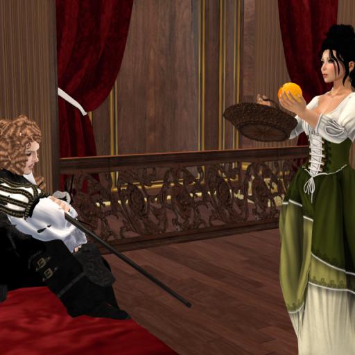"""Would you like one of my oranges, Mr. Killigrew?"""