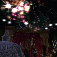 Feu d'artifice à Versailles pour Sa Majesté le Roi
