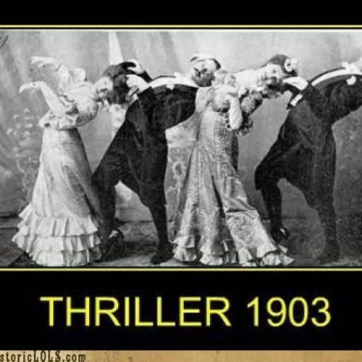 'Cos this is THRILLER!!!!