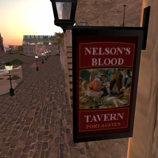 Nelson's Blood Tavern, Port Austen, Regency Somerset