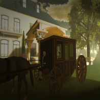 Arrival by carriage