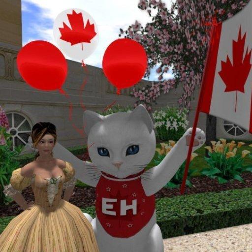 Canada Day in SL 2013