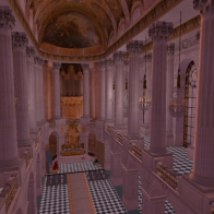 Chapel of Versailles - the Nave