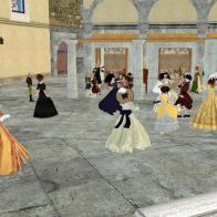 Music and Dancing at the Taverna - Rocca Sorrentina