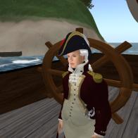 George III arrives at Glytton Isle