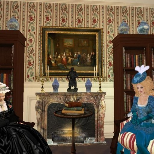 Mrs Delany  and Fanny wait to entertain the Queen