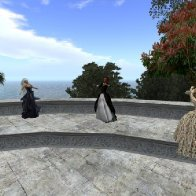 Dancing at the Anfiteatro