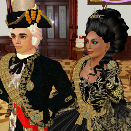 Prince and Princess von Hirvi at the court of the Princess Royal