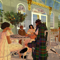 Welcoming Autumn with Tea in the Orangery 3