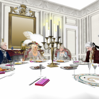 Dinner with the Duc de La Vauguyon