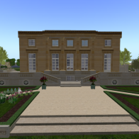 Petit Trianon French Garden Side