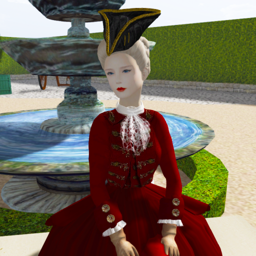 Riding a la Antoinette