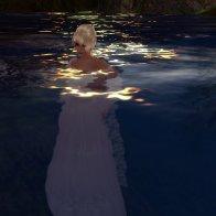 Moon bath in Coeur