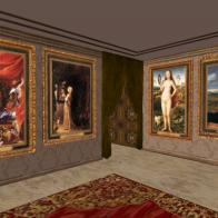 """""""VENUS AT A MIRROR """" Art exhibition"""