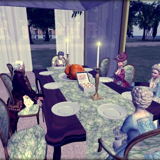 Dinner with Her Royal Highness Comtesse de Provence