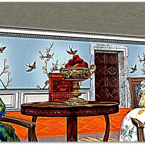Mrs. Piozzi's Afternoon Ladies' Tea