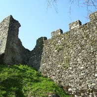 Allinges (fortress): outer wall