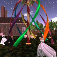 The Maypole Dance, May Day in Whitehall