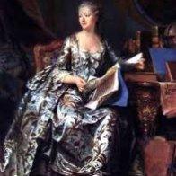 Madame de Pompadour by painter Boucher