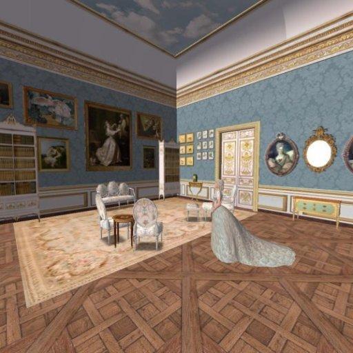 L'appartement de la duchesse de Bourbon