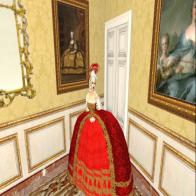 L'appartement de Nantes dans le Château de Versailles.